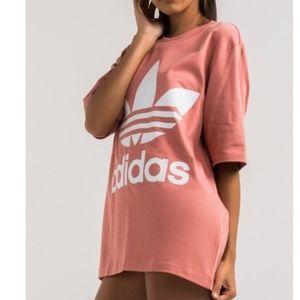 Adidas Originals Boyfriend Trefoil Tee Raw Pink